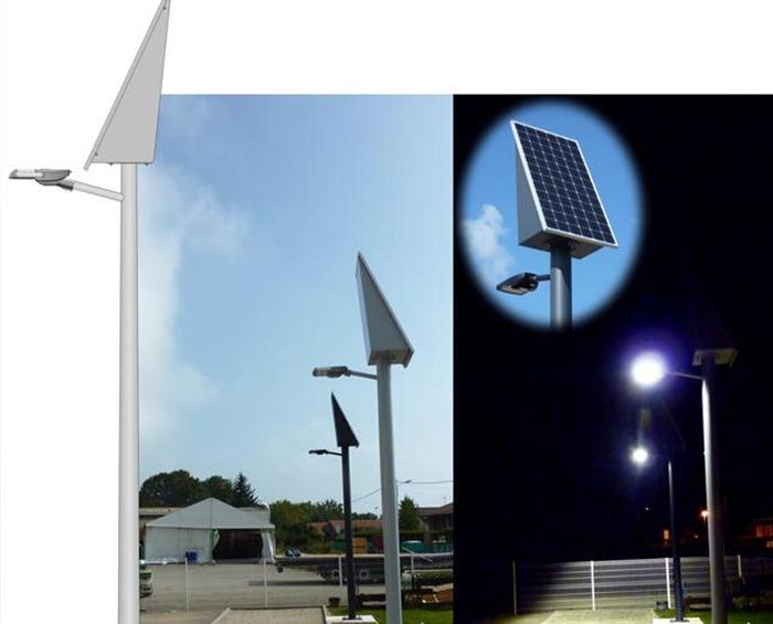 Solar Street Light in France