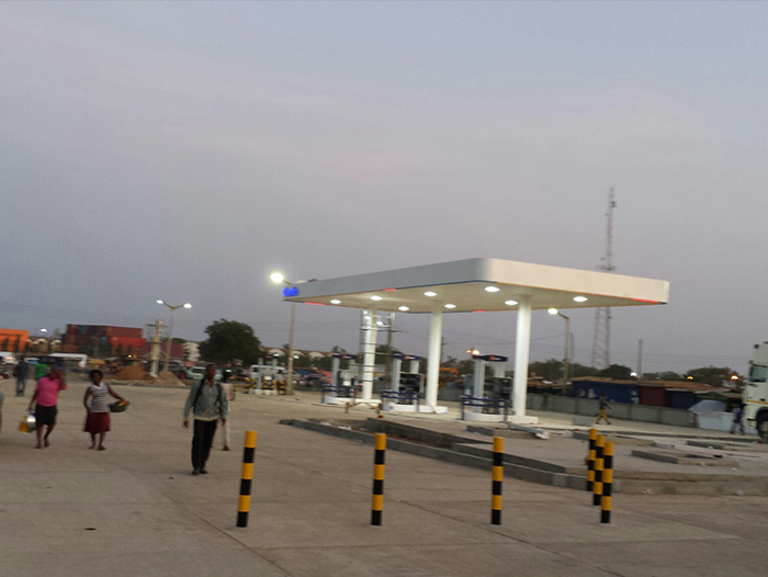 LED Canopy Light in Ghana