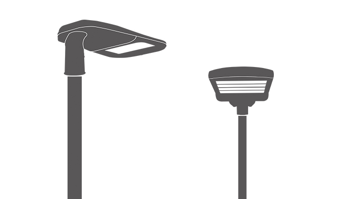 Outdoor All In One Solar Street Light