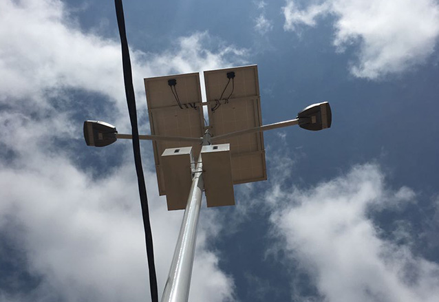 Solar Street Light in Cameroon