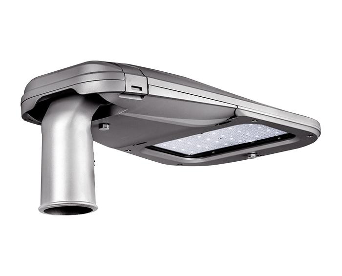 Full die cast housing 90w Tool-less Smooth Body LED Street Light