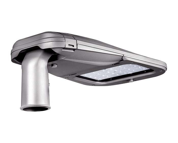 Full die cast housing 90w Tool-less Smooth Body LED Street Light