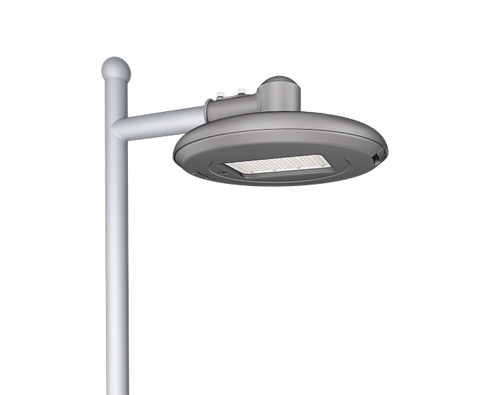 Multi-purpose Smooth body 120w Tool-less street light fixtures