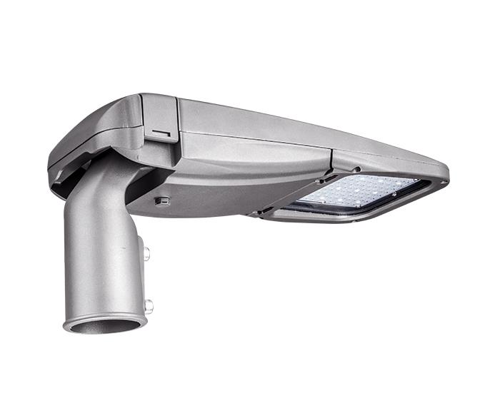 Tool-less 55w ShoeBox LED Parking Lot Light