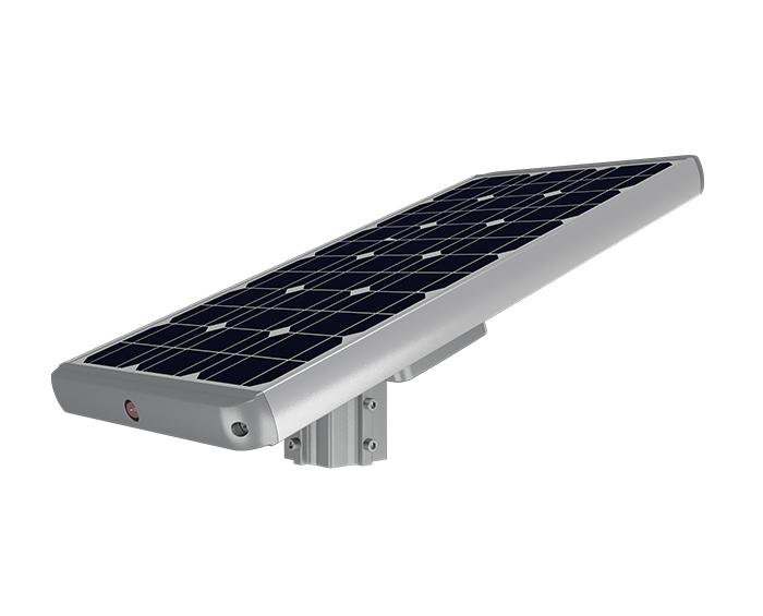 Lithium battery 50w solar powered garden lights