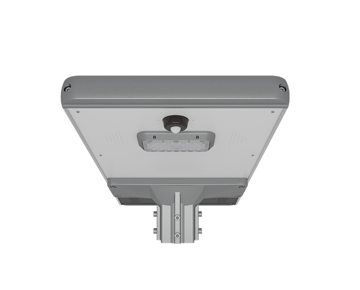 Lithium battery 15w led solar street light