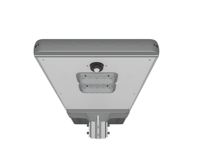 Intelligent induction 20w All In One Solar Garden Light