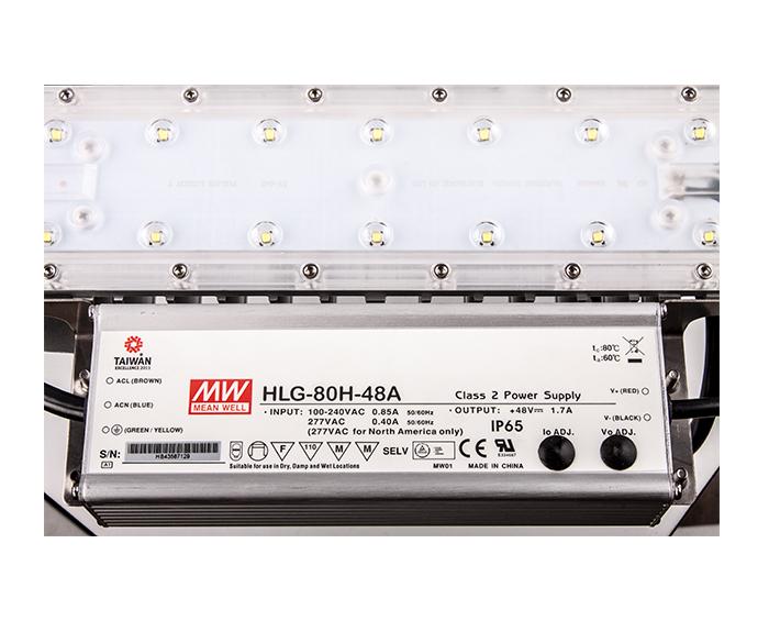 UL Standard 80w Modular Design led floodlight outdoor