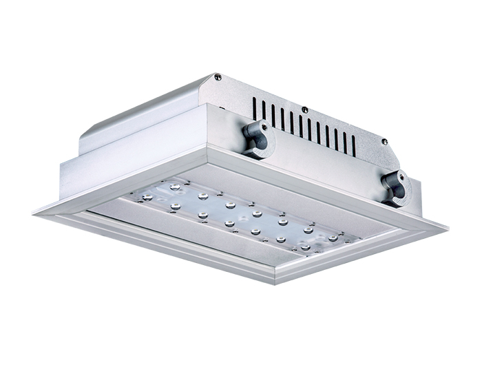 40w ATEX LED Gas Station Light manufacturer