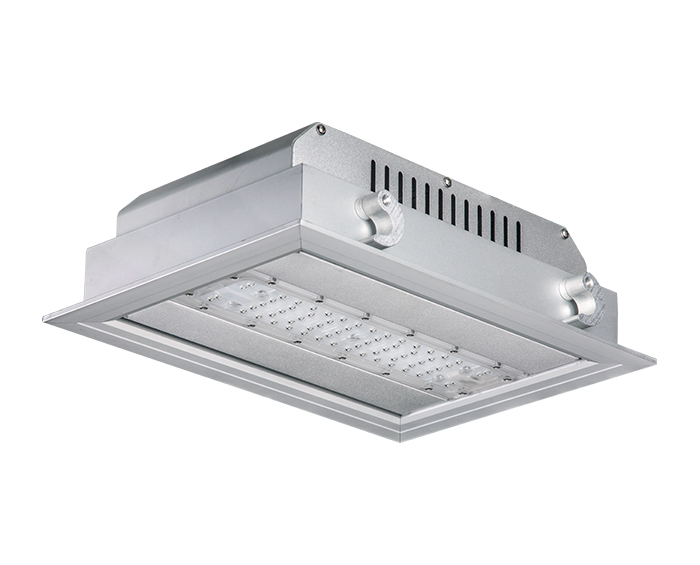 CE 50w Gas Station led canopy lights for gas station