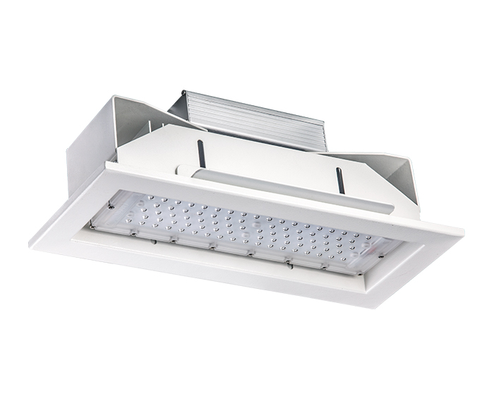 ATEX 50w Recessed gas station lamp