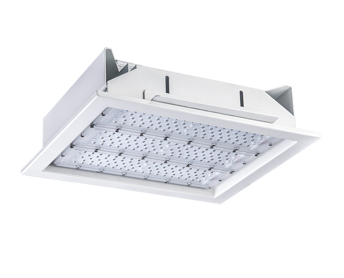 120w Recessed LED Gas Station Light