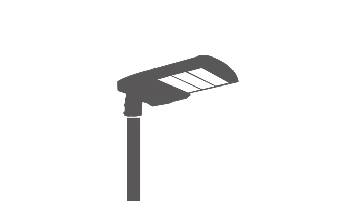 UL approved LED Parking Lot Light