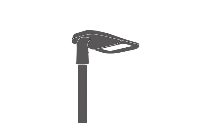 ShoeBox LED Parking Lot Light
