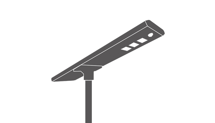 Solar LED Parking Lot Light