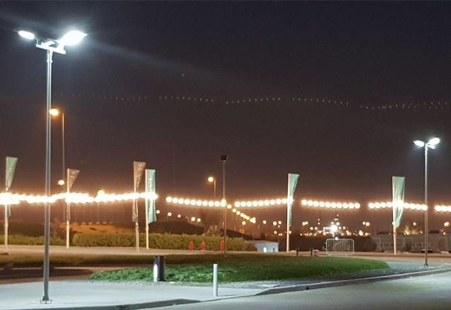 All in one solar street Light in UAE