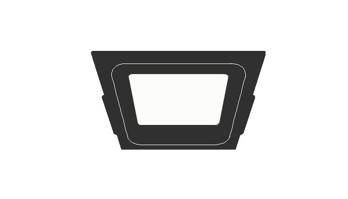 Surface Mounting  Canopy Light